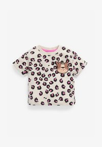 Next - Print T-shirt - pink - 0