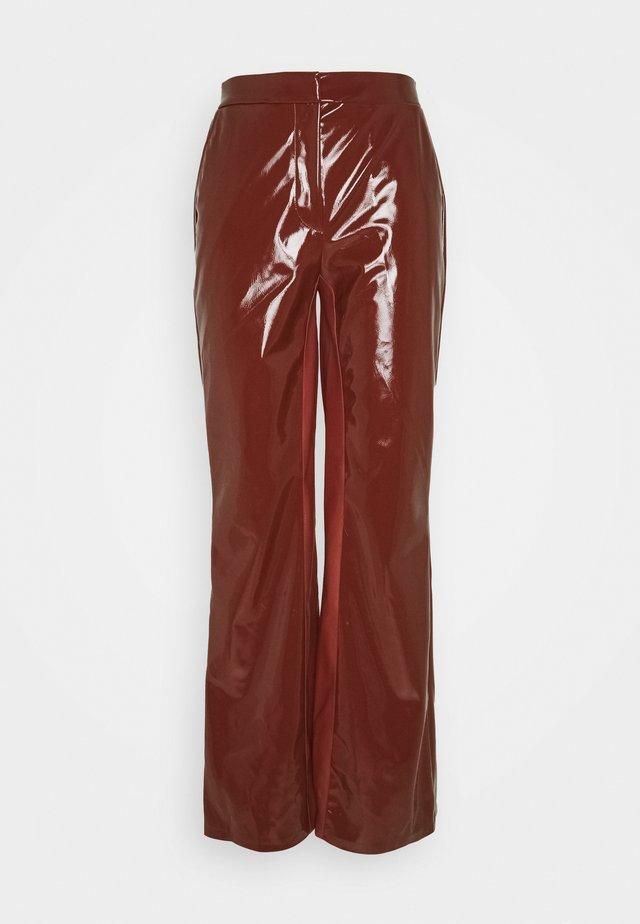 DINARA PANTS - Pantaloni - masala