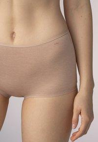 Mey - SERIE EASY COTTON - Pants - cream tan melange - 2