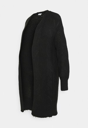 PCMPENELOPE LONG CARDIGAN  - Kardigan - black