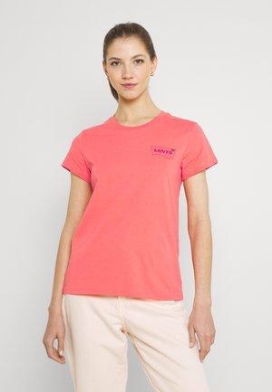PERFECT TEE - T-shirt z nadrukiem - coral quartz