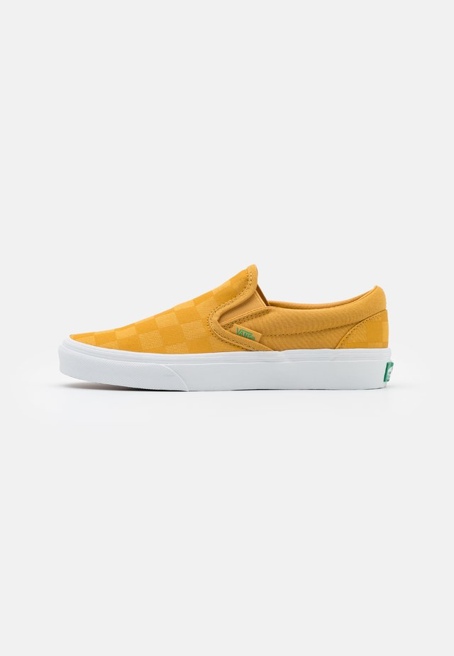 CLASSIC UNISEX - Slip-ons - honey gold/deep mint