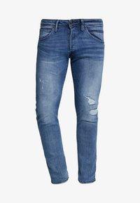 Jack & Jones - JJIGLENN JJFOX  - Slim fit jeans - blue denim - 4