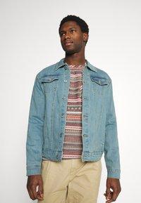 Solid - SDPEYTON - Denim jacket - light vintage blue denim - 0