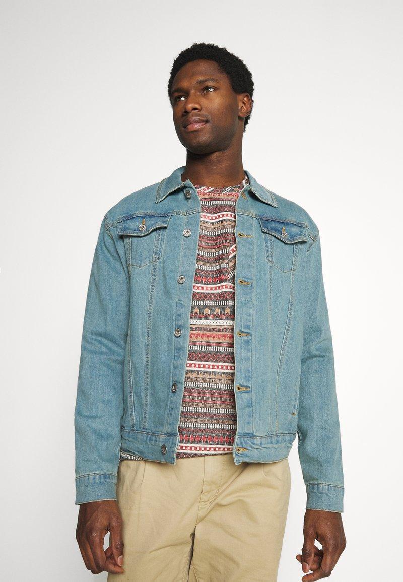 Solid - SDPEYTON - Denim jacket - light vintage blue denim