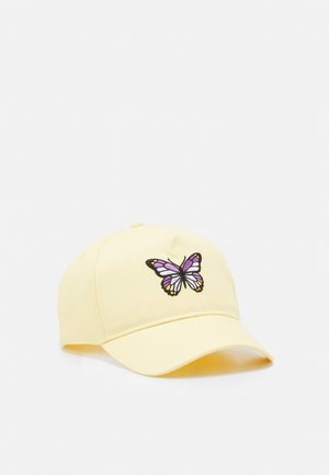 PEAK BIG BUTTERFLY UNISEX - Kšiltovka - light dusty yellow