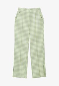 Bershka - Trousers - green - 5