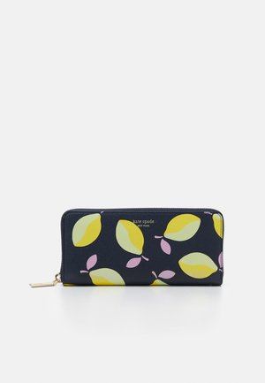 MARGAUX LEMONS SLIM CONTINENTAL WALLET - Wallet - blue/multi