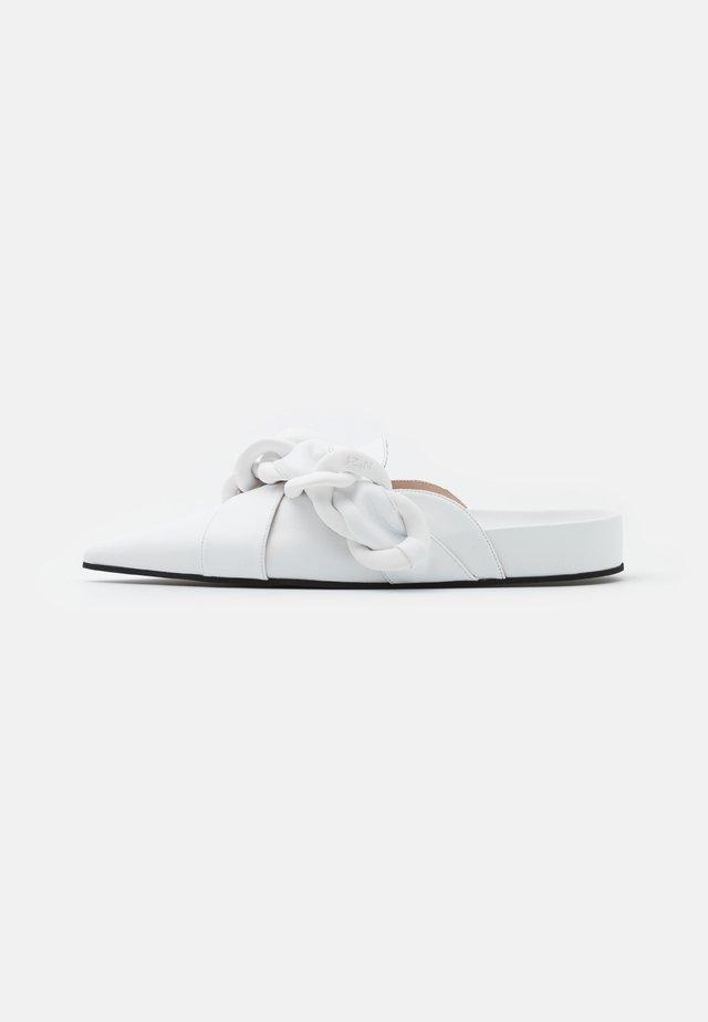SABOT FUSSBETT - Mules - white