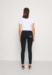 Versace Jeans Couture - Jeans Skinny Fit - black denim - 4