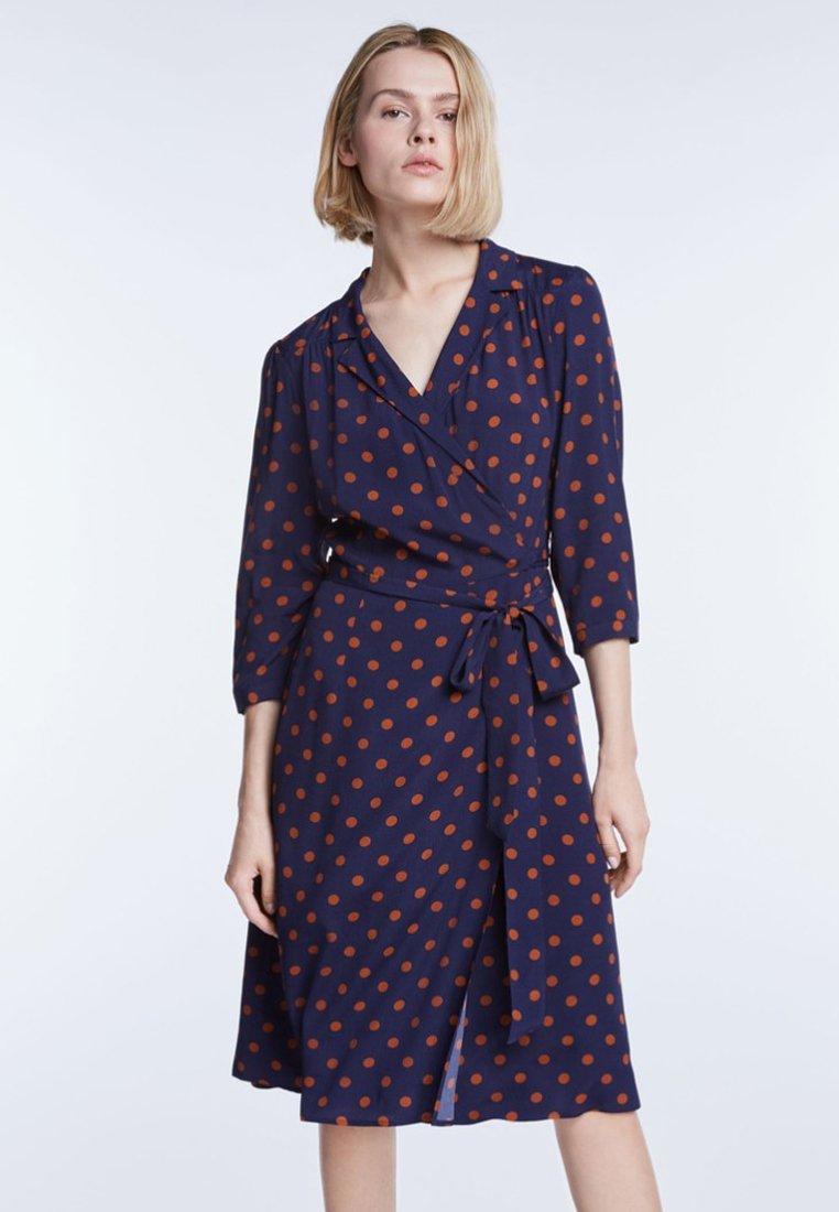 SET - Shirt dress - blue