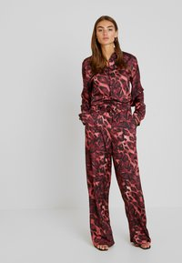 NGHTBRD - FOX  - Tuta jumpsuit - red river - 0