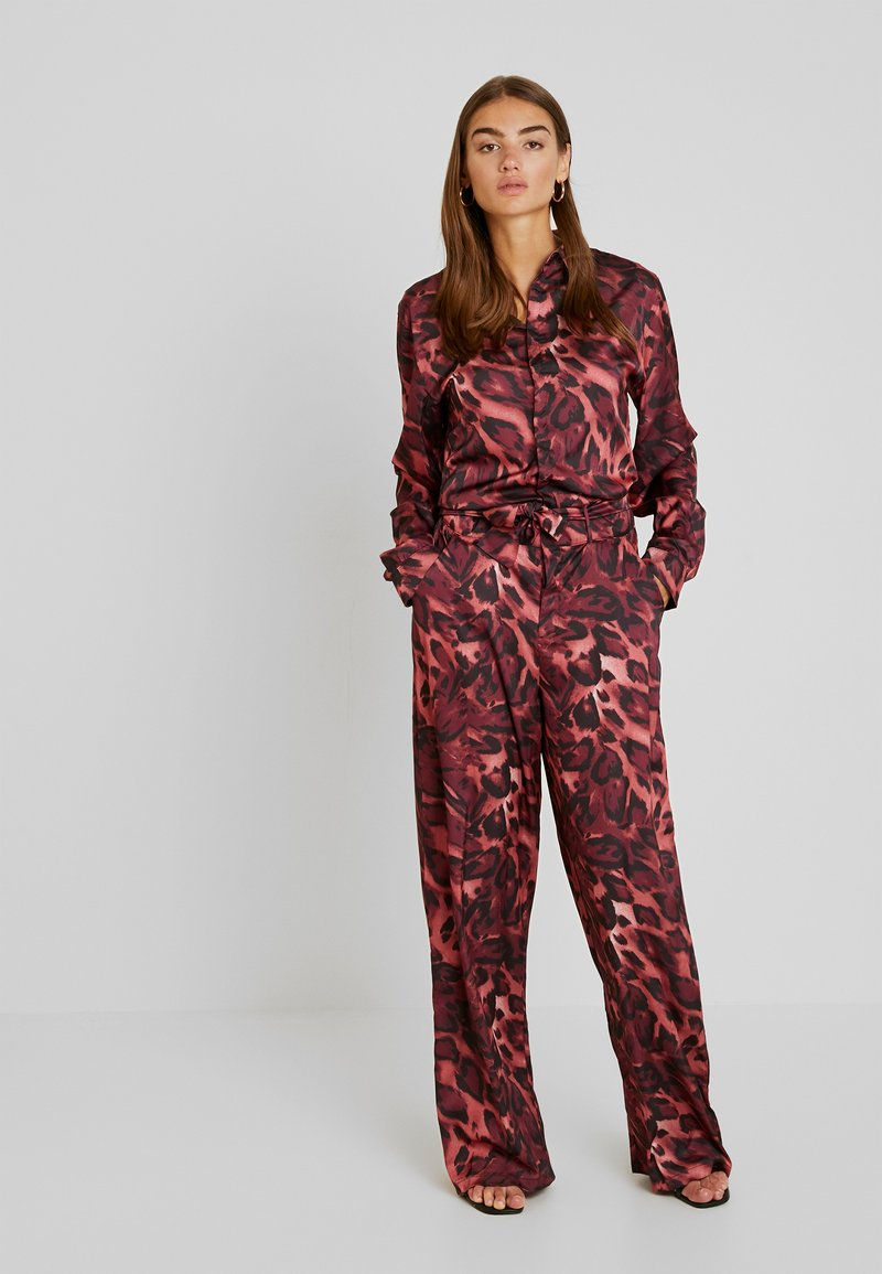 NGHTBRD - FOX  - Tuta jumpsuit - red river