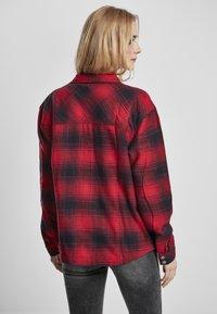 Urban Classics - Button-down blouse - darkblue/red - 1
