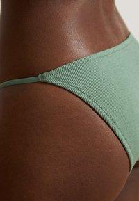 OYSHO - Bikini bottoms - green - 3