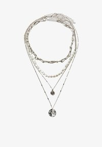 Stradivarius - Necklace - grey - 2