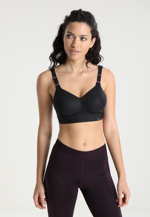 HYBRID LITE  - High support sports bra - black