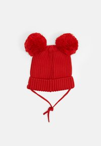 Mini Rodini - EAR HAT - Čepice - red - 1