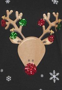 ONLY - CHRISTMAS - Print T-shirt - black - 2