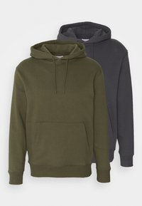 Topman - HOOD UNISEX 2 PACK - Sweatshirt - grey - 4
