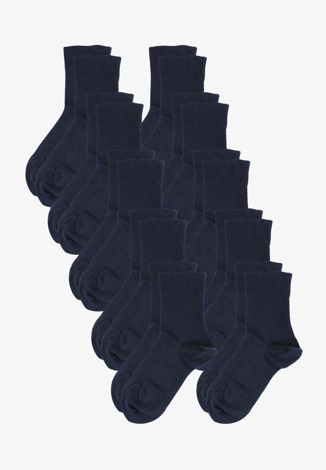 10 PACK - Socks - dunkelblau