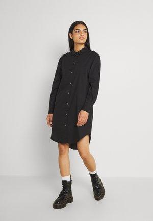 JDYPIPPA BOYFRIEND SHIRT DRESS - Robe chemise - black