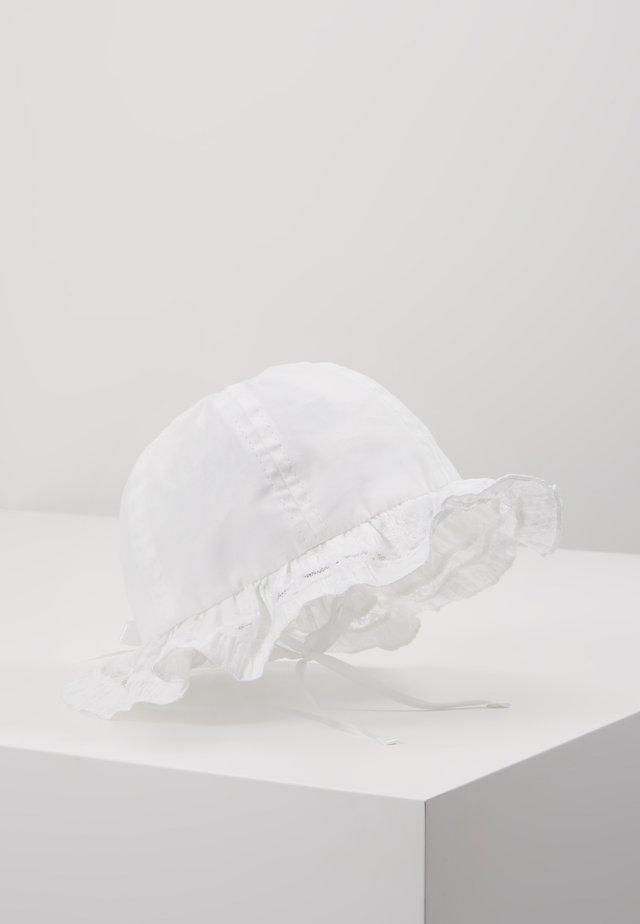 MINI GIRL FLAPPER SCHLEIFE BABY - Cappello - weiß