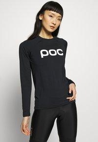 POC - ESSENTIAL  - Langærmede T-shirts - uranium black - 0
