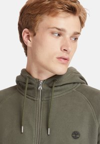 Timberland - EXETER RIVER FULL ZIP - Zip-up hoodie - grape leaf