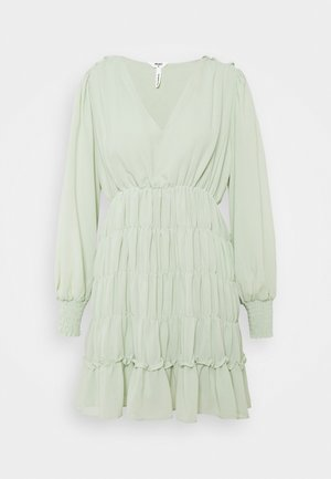 OBJGILA SMOCK DRESS - Day dress - desert sage