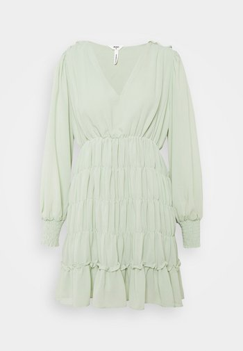 OBJGILA SMOCK DRESS - Day dress - desert sage