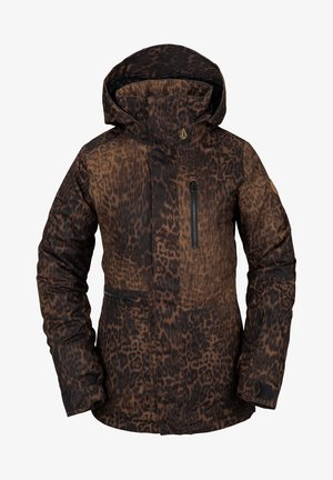 SHELTER 3D STRETCH - Snowboard jacket - leopard