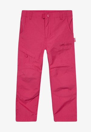 KIDS HAMMERFEST PRO SLIM FIT - Stoffhose - rubine red