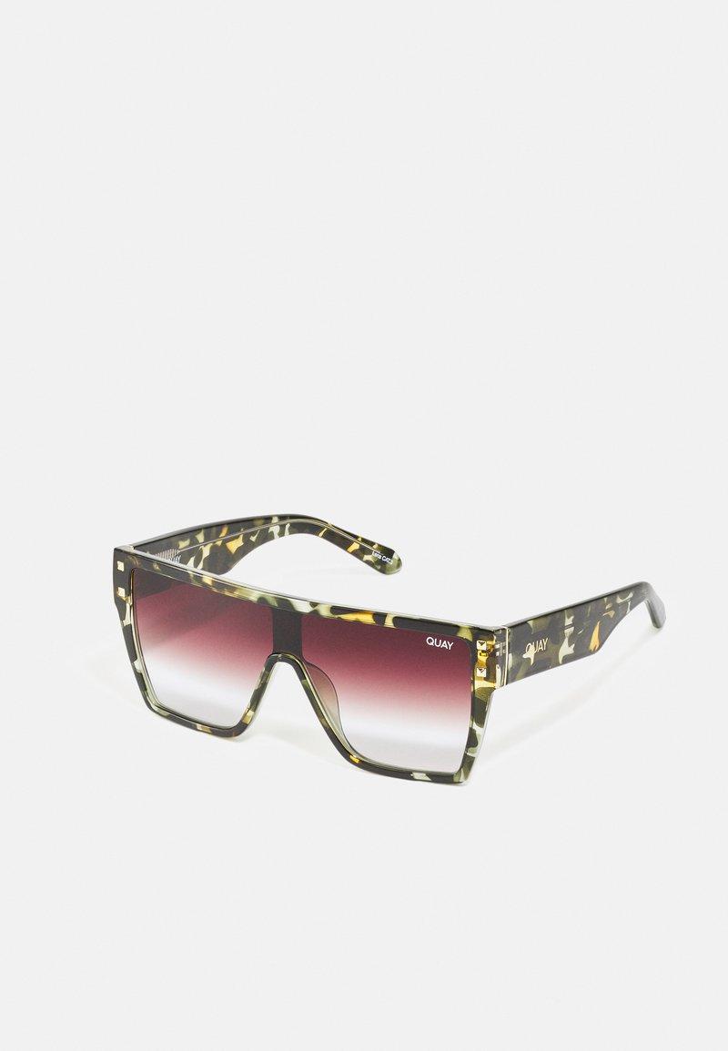 QUAY AUSTRALIA - MAXED OUT - Sunglasses - brown