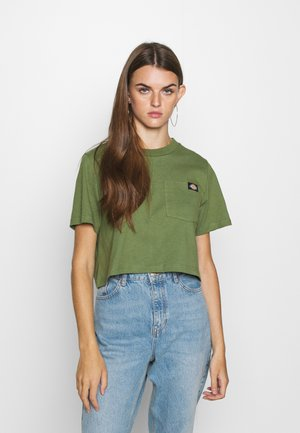 ELLENWOOD - Print T-shirt - army green