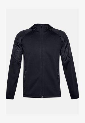 ESSENTIAL SWACKET - Zip-up hoodie - black