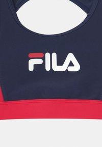 Fila - AMELIE BEACHWEAR SET - Bikini - black iris/true red/bright white - 2