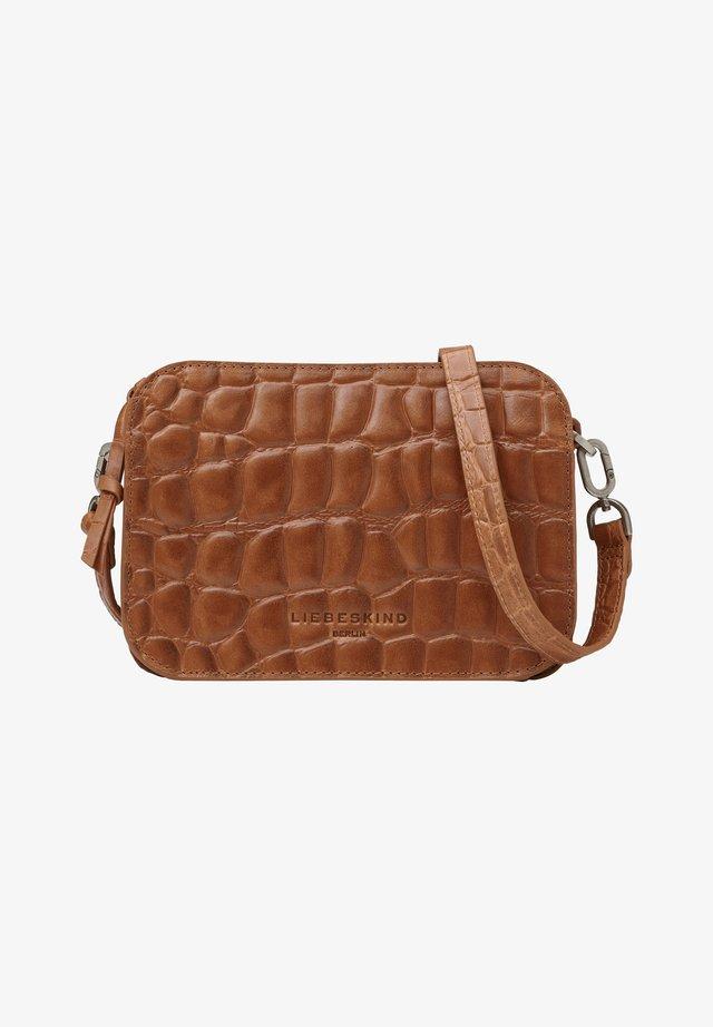 LUKA  - Across body bag - golden amber