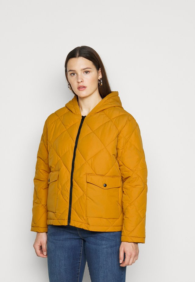 NMFALCON JACKET - Light jacket - inca gold/black