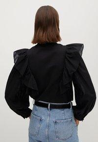 Mango - ROMA - Button-down blouse - zwart - 2