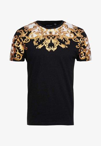 SCROLL - Camiseta estampada - black
