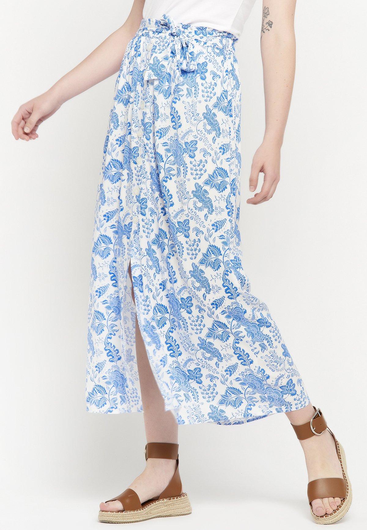 Femme FLORAL PRINT - Jupe longue