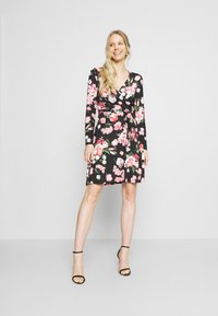 Anna Field - Day dress - black/pink - 1