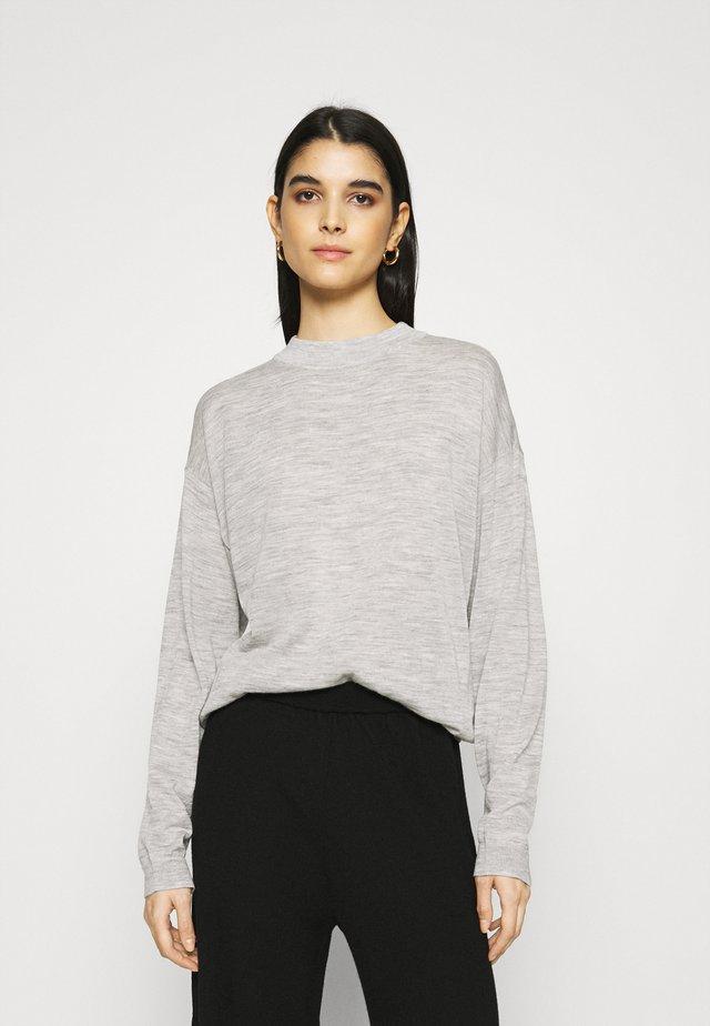 MERINA - Sweter - grey melange