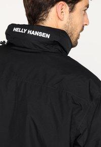 Helly Hansen - DUBLINER INSULATED JACKET - Waterproof jacket - black - 4