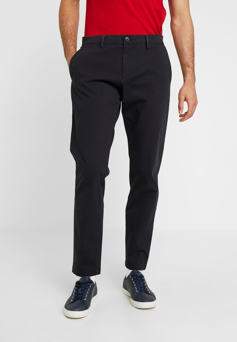DOCKERS - SMART FLEX TAPERED - Trousers - navy