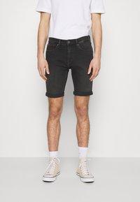 Tommy Jeans - SCANTON - Jeansshorts - kansas black comfort - 0