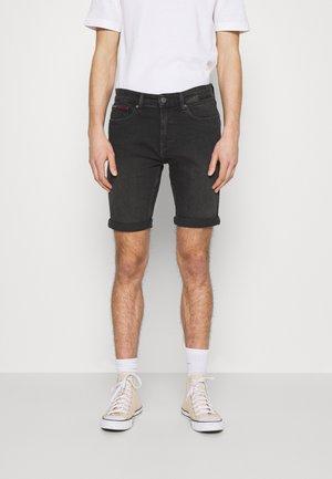 SCANTON - Shorts di jeans - kansas black comfort