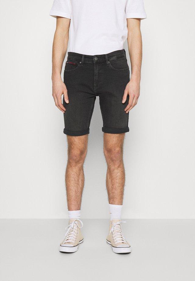 SCANTON - Denim shorts - kansas black comfort