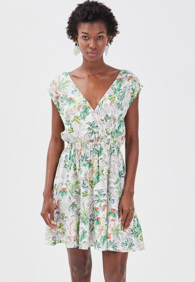 Korte jurk - blanc